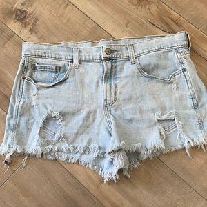 4/$25 Old Navy Distressed Denim Jean Shorts Sz 8